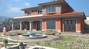 Проект за еднофамилна къща в с. Присово - РЗП: 407 кв.м