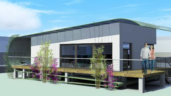 Гъвкава Къща в Ню Орлеанс. Конкурсен проект на пасивна къща - РЗП 92 кв.м