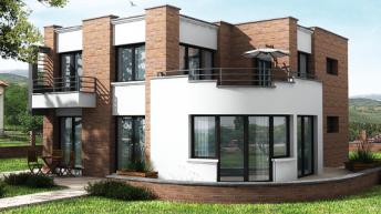 Проект на енергоефективна къща – РЗП 194 кв.м