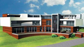 Проект на еднофамилна къща в гр. Варна – РЗП  995,3 кв.м