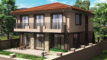 Проект на еднофамилна къща – РЗП  288,15 кв.м