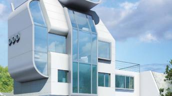 Проект на жилищна сграда ЕЛЕКТРА - гр.Пловдив РЗП 405 кв.м