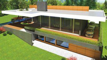 """Проект на еднофамилна къща """"Jasmine"""" – РЗП 510 кв.м"""