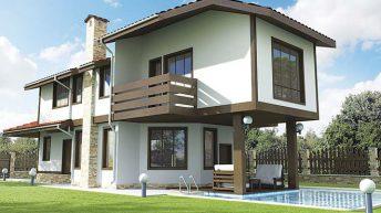 Проект на вилна сграда в гр. Каварна Човек може да се чувства комфортно при 225 кв.м.....