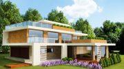 """Проект на еднофамилна къща """"Дом Лента""""  в подножието на Витоша – РЗП 448 кв.м"""