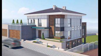 Проект на еднофамилна къща в с. Белащица, обл. Пловдивска. - РЗП 649 кв.м