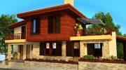 Проект на лятна къща край морето  в гр. Черноморец – РЗП 244 кв.м