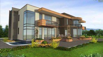 Проект на еднофамилна къща в с. Браниполе – РЗП 496 кв.м