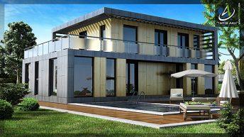 Проект на еднофамилна къща в кв. Славовци, гр. Нови Искър