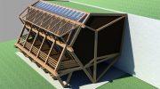 Проект на пасивна къща в с. Мухово, община Ихтиман – РЗП 250 кв.м