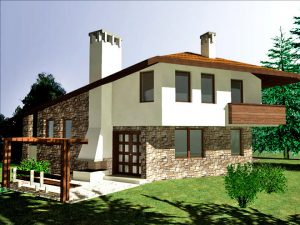 Проект на еднофамилна къща в с. Радювене, област Ловеч