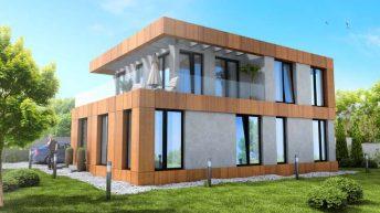 """Проект на еднофамилна къща в местност """"Горна Трака"""", гр. Варна - РЗП 240 кв.м"""