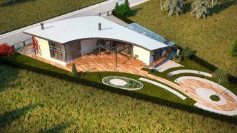 Проект на еднофамилна къща във вилната зона на гр. Пловдив – РЗП 196 кв.м