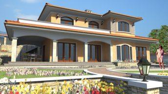 Проект на еднофамилна къща в кв. Драгалевци, гр. София – РЗП 380 кв.м