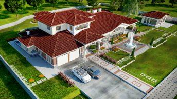 Проект на двуфамилна къща в гр. Елхово