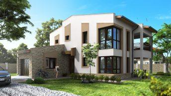 Проект на еднофамилна жилищна сграда в с. Здравец, Община Аврен