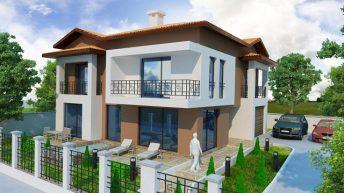 Проект на еднофамилна къща в кв. Баделема, гр. Асеновград