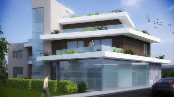 Проект за реконструкция на еднофамилна къща в гр. Черноморец – РЗП 642 кв.м