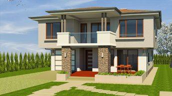 Проект на еднофамилна къща в с. Братово, обл. Бургас