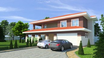 Проект на еднофамилна къща в гр. Пловдив, район Южен